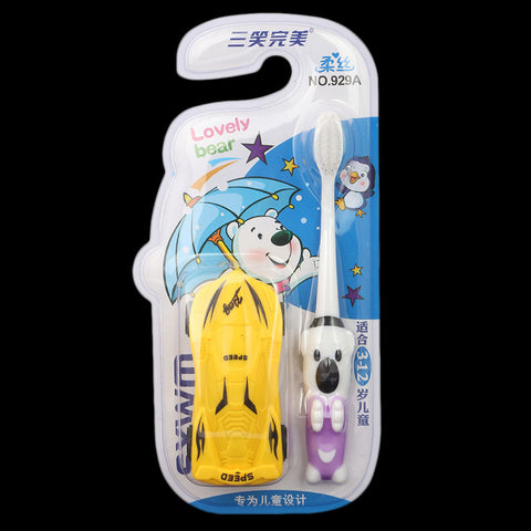 Toothbrush for Kids - Yellow (929A)