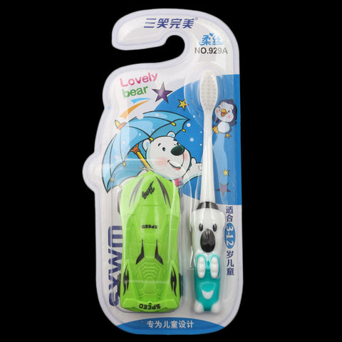 Toothbrush for Kids - Green (929A)