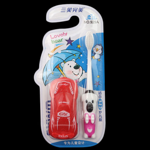 Toothbrush for Kids - Red (929A)
