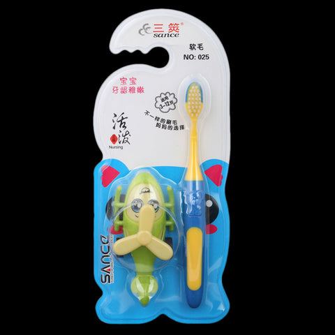 Toothbrush for Kids - Yellow (025)