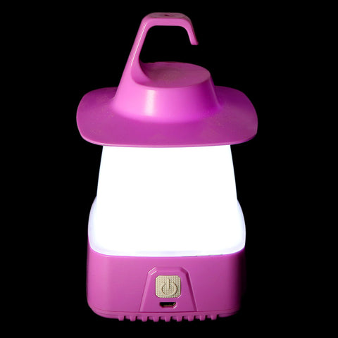 Sanford Rechargeable Mini Camping Light - Purple