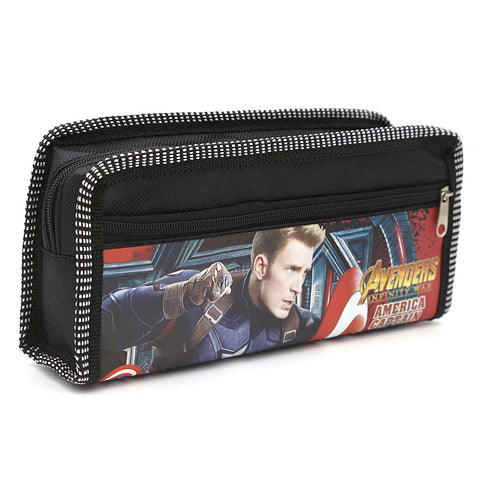 Avengers Pencil Pouch - Black