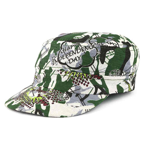 14th August Kid's Azadi Cap - White - test-store-for-chase-value