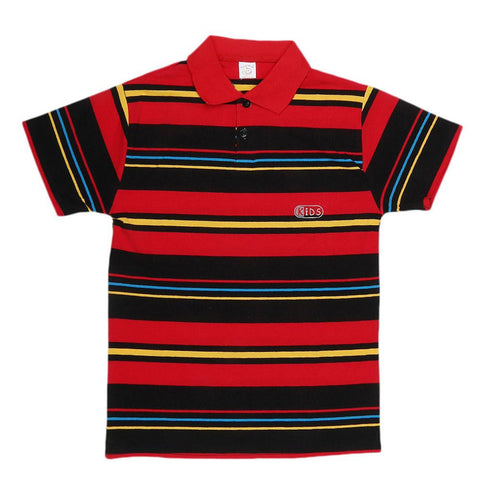 Boys Half Sleeves T-Shirt - Multi - test-store-for-chase-value