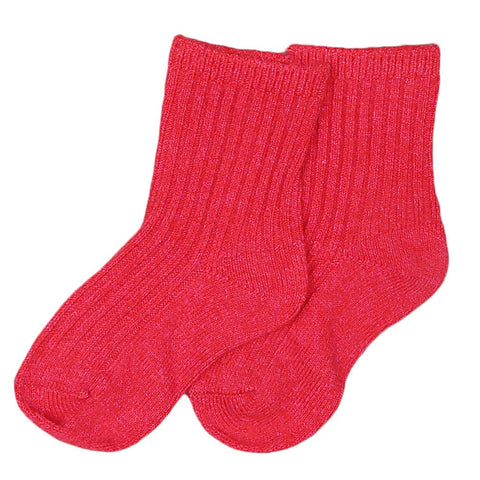 Kids Socks - Red
