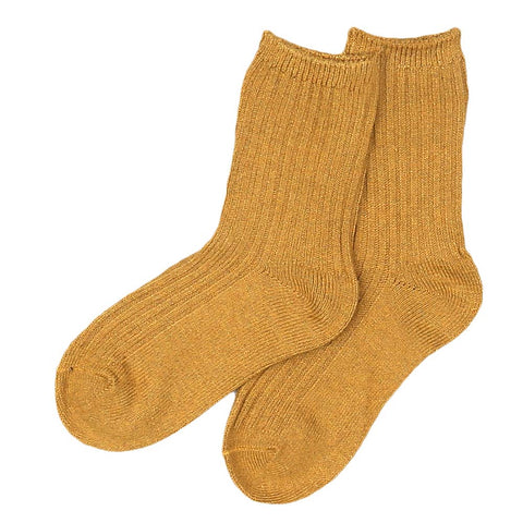Kids Socks - Mustard