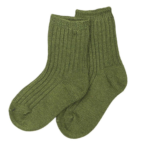 Kids Socks - Green