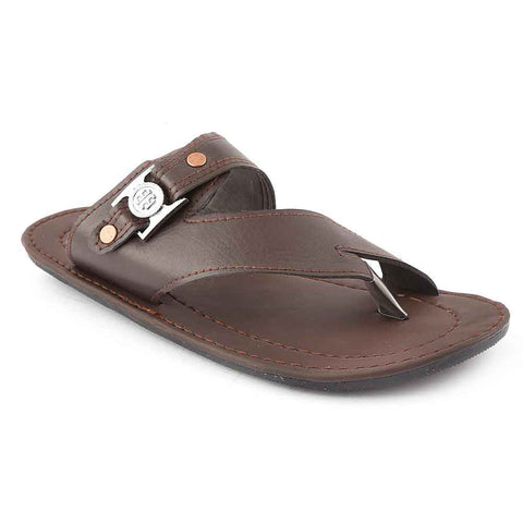 Men's Slippers (777) - Brown