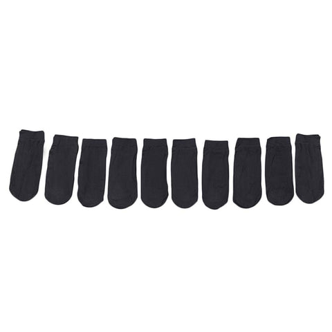 Women's Socks 10 Pcs - Black