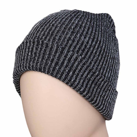 Women's Woolen Cap - Grey