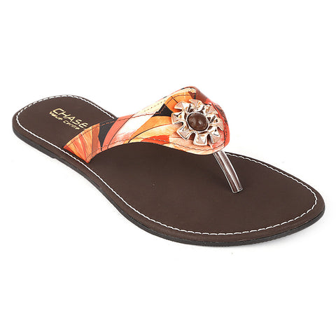 Women's Slipper (KL-031) - Brown - test-store-for-chase-value