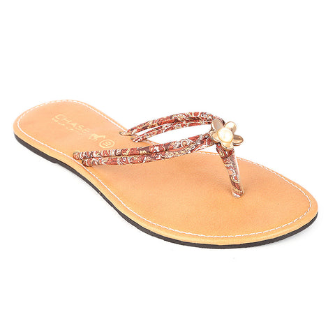 Women's Slipper (KL-035) - Brown - test-store-for-chase-value