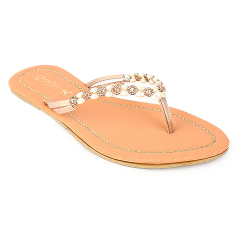 Women's Slipper (KL-05) - Peach - test-store-for-chase-value