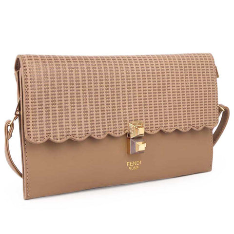 Ladies Clutch - khaki