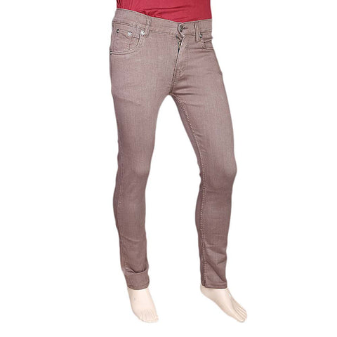 Men's Slim Fit Jeans Pant - Light Purple