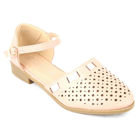 Girls Fancy Pumps (K101) - Pink