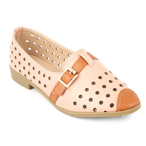 Girls Fancy Pumps (K91) - Pink