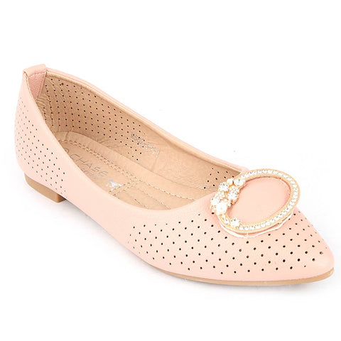 Girls Fancy Pumps (M662-K171) - Pink
