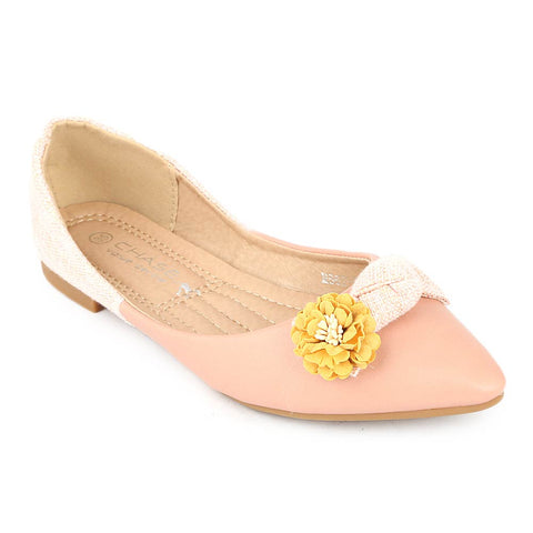 Girls Fancy Pumps (M662-K261) - Pink