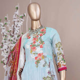 Schick Embroidered Lawn 3 Piece Un-Stitched Suit - 06