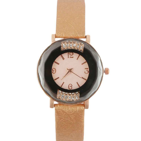 Women's Wrist Watch - Golden