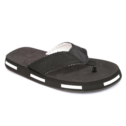 Men's Slippers (N-21) - Black