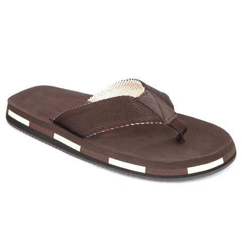 Men's Slippers (N-21) - Brown