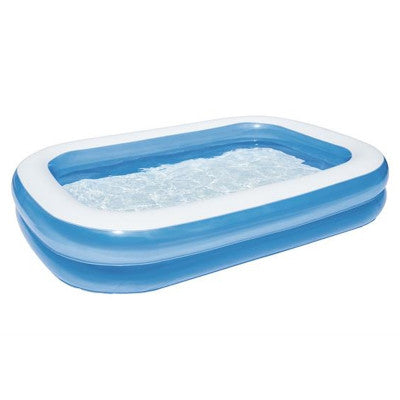 Bestway Inflatable Rectangular Family Swimming Pool 54006