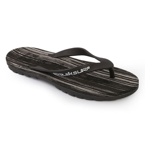 Quick Surf Men's Slippers QUI-2039 - Black