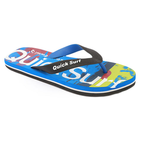 Quick Surf Men's Slippers QUI-2142 - Blue