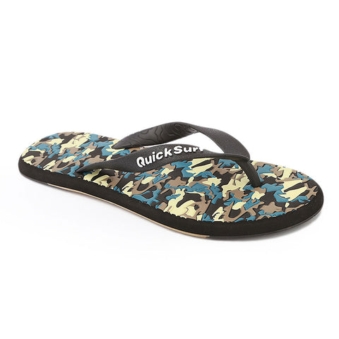 Quick Surf Men's Slippers QUI-2328 - Black