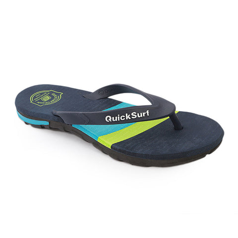 Quick Surf Men's Slippers QUI-2373 - Navy Blue
