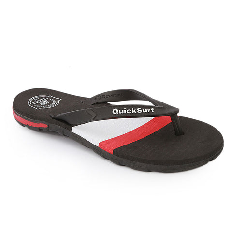 Quick Surf Men's Slippers QUI-2373 - Black