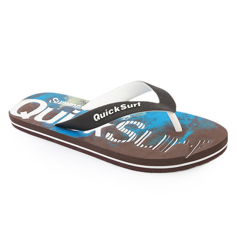 Quick Surf Men's Slippers QUI-2461 - Brown
