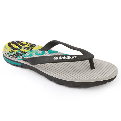 Quick Surf Men's Slippers QUI-6032 - Grey
