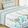 Printed Single Bed Sheet - Multi