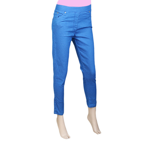 Women's Jegging - Royal Blue