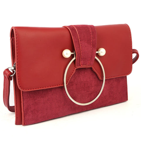 Ladies Clutch 68011 - Red