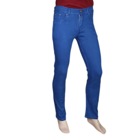 Men's Slim Fit Jeans Pant - Royal Blue