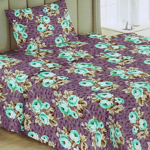 Printed Single Bed Sheet - Multi - test-store-for-chase-value