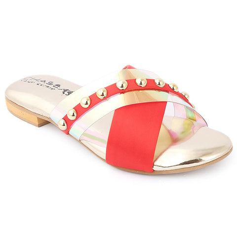 Girls Slipper (S251) - Red