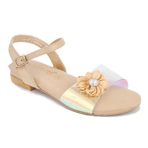 Girls Fancy Sandal (S-253) - Fawn