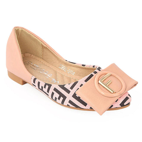 Girls Fancy Pumps (S992-304) - Pink