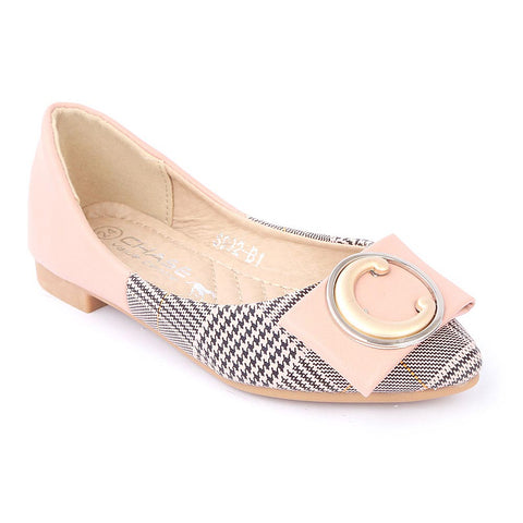 Girls Fancy Pumps (S992-B1) - Pink