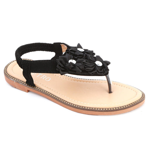 Girls Fancy Sandals 279 (31-36) - Black