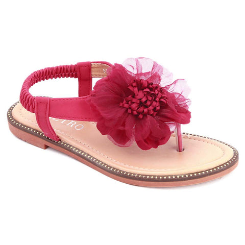 Girls Fancy Sandals 278 (31-36) - Red