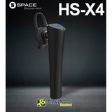 Space Wireless Bluetooth Headset (HS-X4) - test-store-for-chase-value