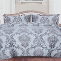Printed King Size Bed Sheet 3Pcs - Multi