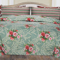 Printed Cotton Double Bed Sheet - Multi