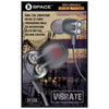 Space Dual Speaker Earphones Vibrate (VT-535) - test-store-for-chase-value